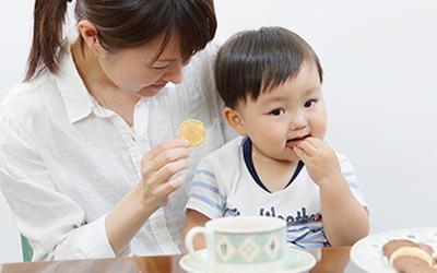 クークは、おかあさんと小さなお子様におすすめのお菓子です。